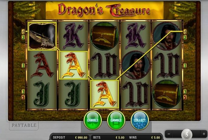 Dragons Treasure online spielen