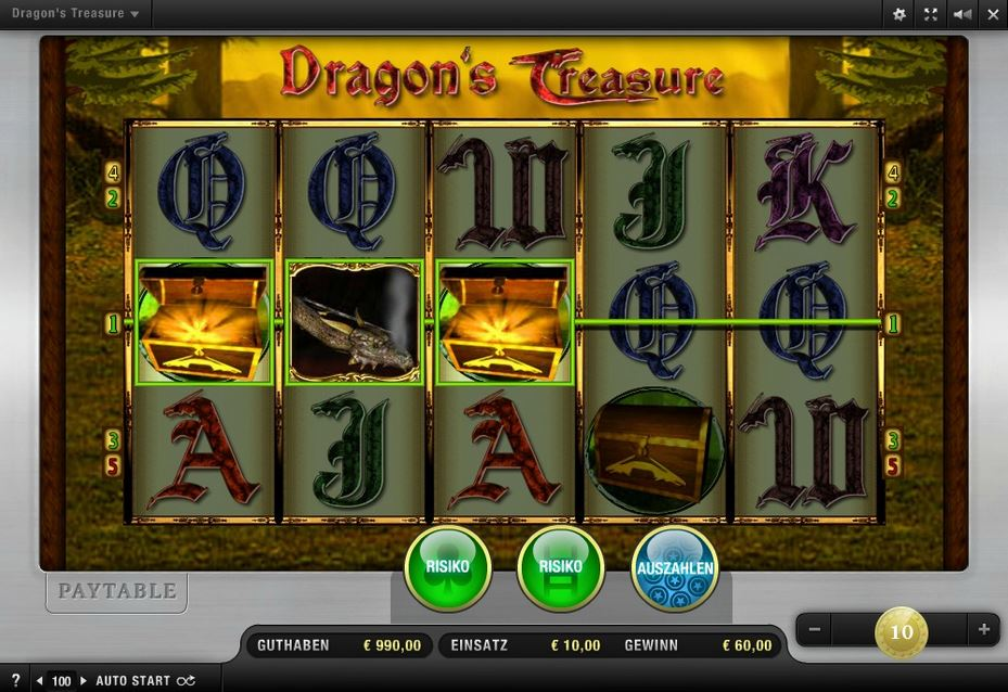Dragons Treasure online
